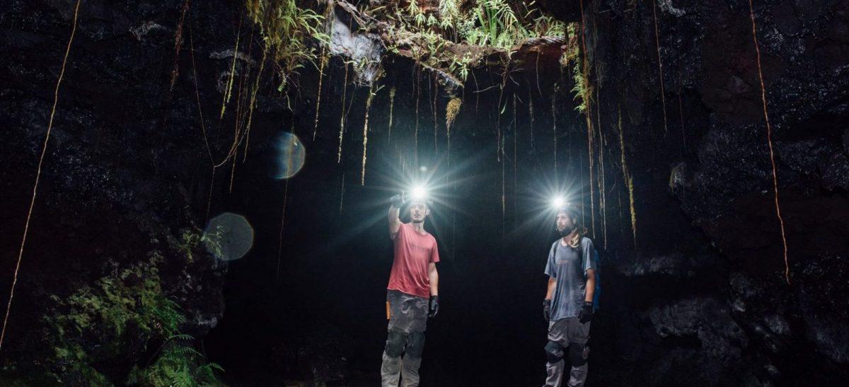 excursion dans les tunnels de lave du Piton de la Fournaise